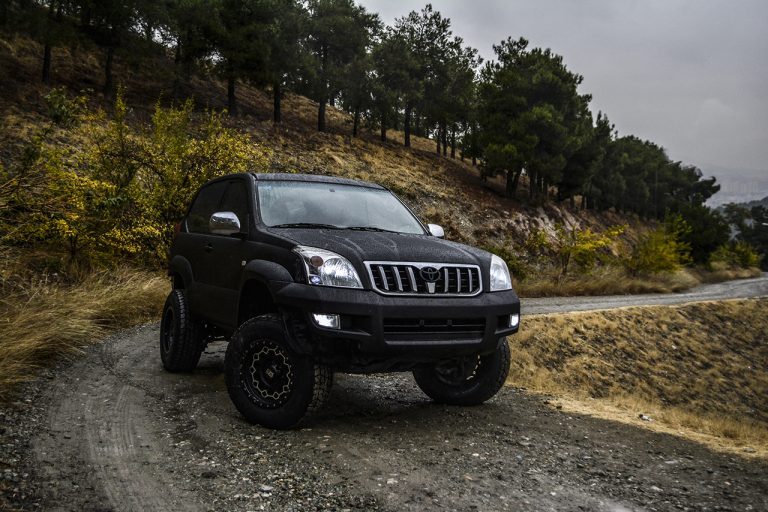 Toyota Prado Tuning Black matte ph performance
