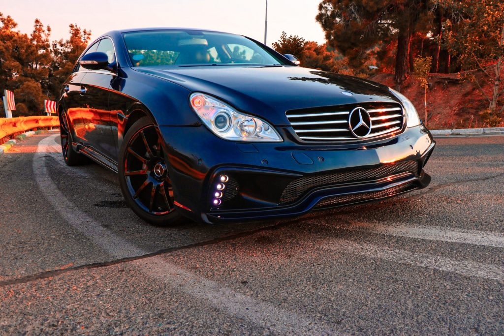 benz cls w219 bodykit tuning