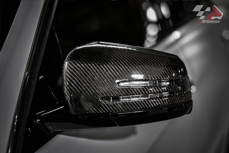 mercedes benz e350 wrap carbon exhaust