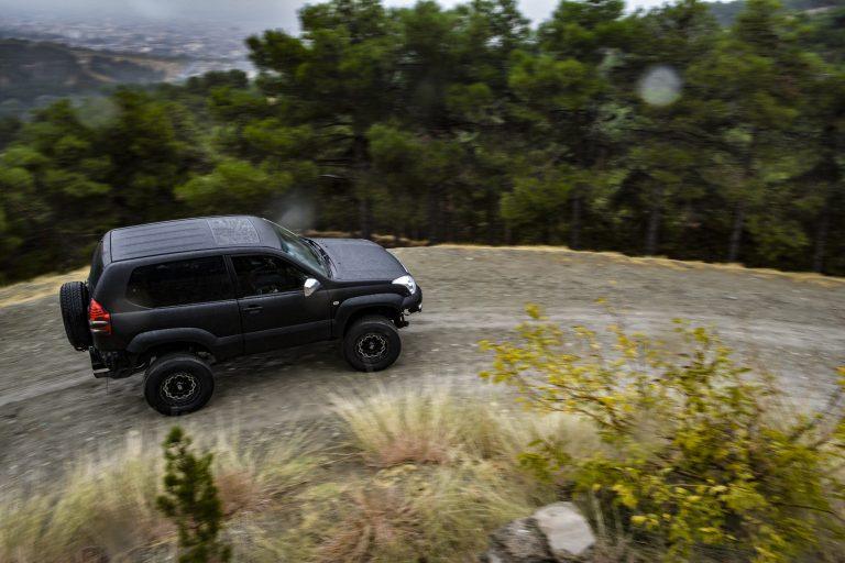 Toyota Prado Tuning Black matte ph performance
